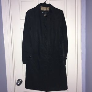 Kenneth Cole Reaction Black jacket/trench coat
